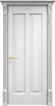 Дверь ОЛ 102 Белая эмаль
