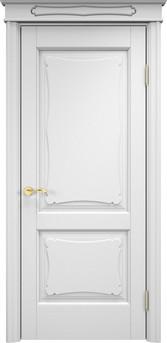 Дверь ОЛ 6.2 Белая эмаль