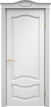 Дверь ОЛ 33 Белая эмаль