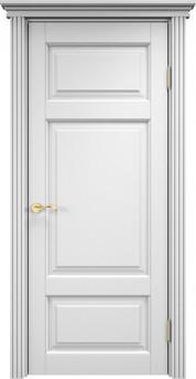 Дверь ОЛ 55 Белая эмаль