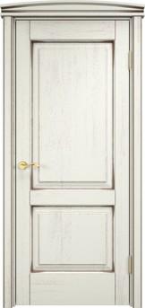Дверь Д 13 Эмаль F120 чёрная патина