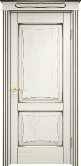 Дверь Д 6/2 Эмаль F120 чёрная патина