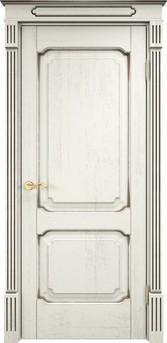 Дверь Д 7/2 Эмаль F120 чёрная патина