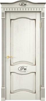 Дверь Д 3 Эмаль F120 чёрная патина