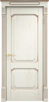 Дверь Д 7/2 Эмаль F120 патина золото