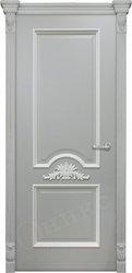 Дверь Византия Серая эмаль