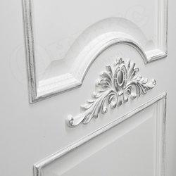 Межкомнатная дверь Оникс Византия патина серебро