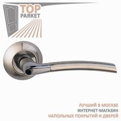 Ручка дверная на круглой накладке Fino A-13-10 Античная бронза
