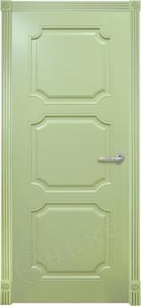 Дверь Валенсия фрезерованное эмаль фисташковая