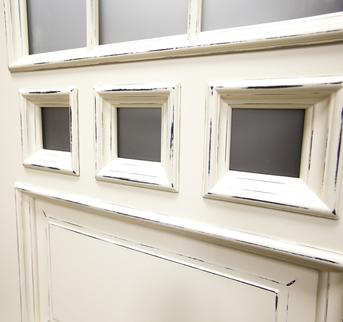 Дверь Амстердам Белая эмаль