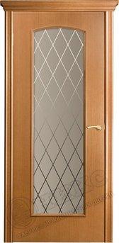 Дверь остекленная Глория Анегри Гравировка