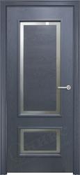 Дверь премиум дуб графит