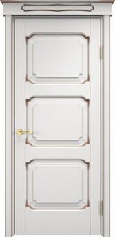 Дверь ОЛ 7.3 Грунт патина орех