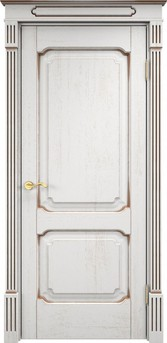 Дверь Д 7/2 Грунт патина орех