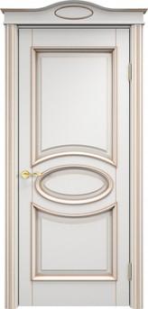 Дверь Ольха 26 Грунт патина золото