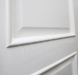 Дверь милан белая эмаль