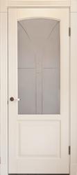 Межкомнатная дверь Альверо ДО Ирина, Белый Бук