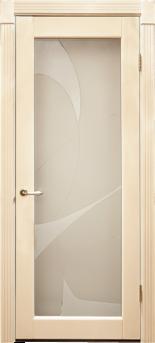 Дверь Альверо ДО Вероника, Беленный дуб