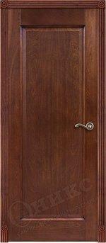 Дверь Италия 1 Красное дерево патина