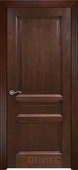 Дверь Италия 3 Красное дерево патина