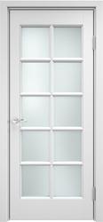 Дверь остекленная ОЛ 10 Эмаль белая