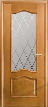 Дверь Остекленная Классика Анегри Гравировка
