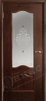 Дверь Остекленная Классика Палисандр