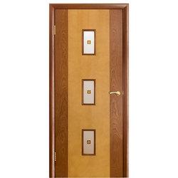 Межкомнатная дверь Оникс Комби со стеклом
