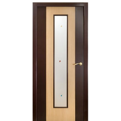 Межкомнатная дверь Оникс Комби Дуб со стеклом