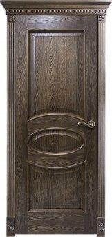 Дверь Эллипс Дуб коньячный