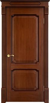 Дверь Д 7/2 Коньяк патина