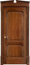 Дверь ОЛ 7.2 Коньяк патина