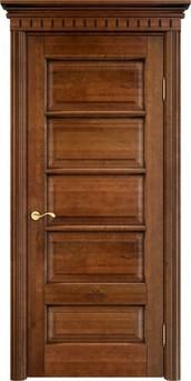 Дверь ОЛ 44 Коньяк патина