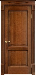 Дверь ОЛ 6.2 Коньяк патина