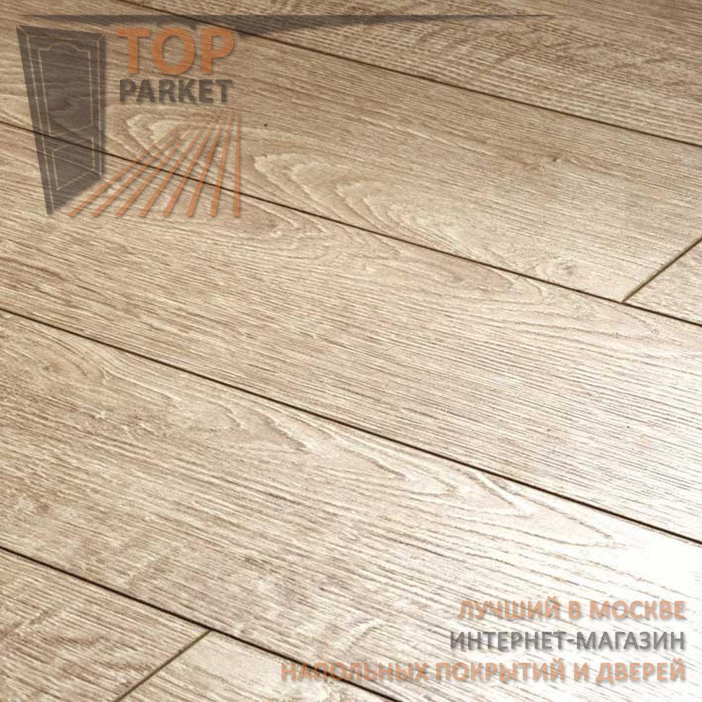 Ламинат Ecoflooring Brush Wood Дуб Белый 33 класс 12 мм (1215х128)