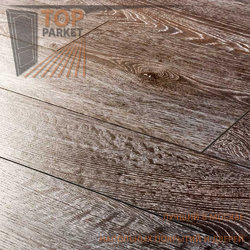 Ламинат Ecoflooring Brush Wood Дуб Черный 33 класс 12 мм (1215х128)
