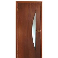 Межкомнатная дверь Оникс Луна со стеклом