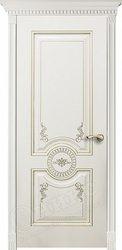 Дверь Лувр Белая эмаль