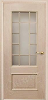 Дверь остекленная Марсель Дуб Беленый