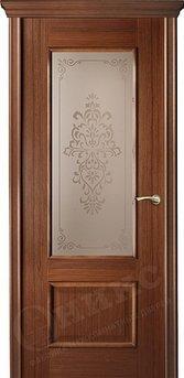 Дверь остекленная Марсель Орех