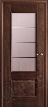 Дверь остекленная Марсель Палисандр