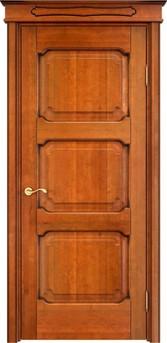 Дверь ОЛ 7.3 Медовый патина орех