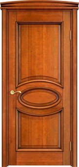 Дверь ОЛ 26 Медовый патина орех