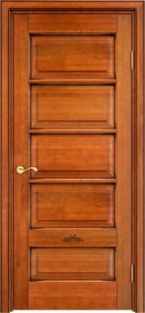 Дверь ОЛ 44 Медовый патина орех