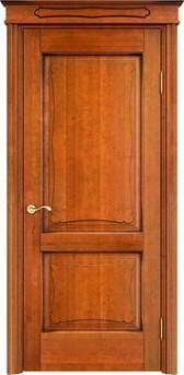 Дверь ОЛ 6.2 Медовый патина орех