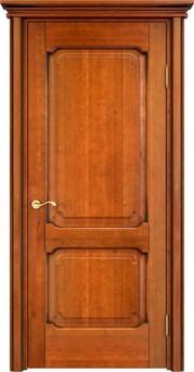 Дверь ОЛ 7.2 Медовый патина орех