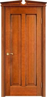 Дверь ОЛ 102 Медовый патина орех