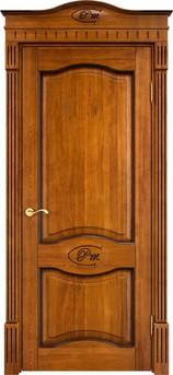 Дверь Д 3 Медовый патина орех