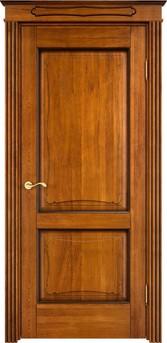 Дверь Д 6/2 Медовый патина орех