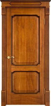 Дверь Д 7/2 Медовый патина орех